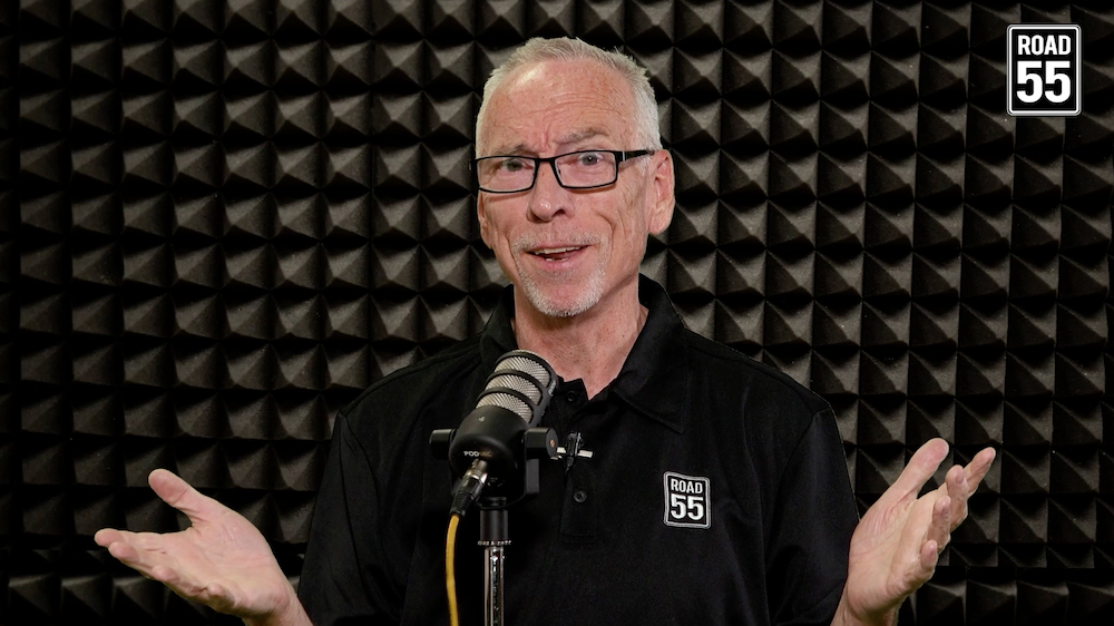 Bryn Griffiths - Director of Podcast & Audio Productions at Road 55 in Edmonton, Alberta
